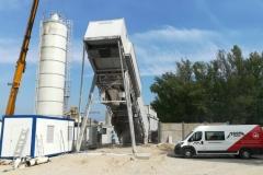 Stěhování betonárny SIMEM
