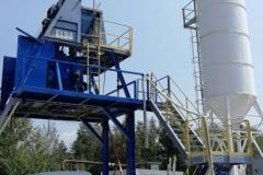 Montáž betonárny ELBA
